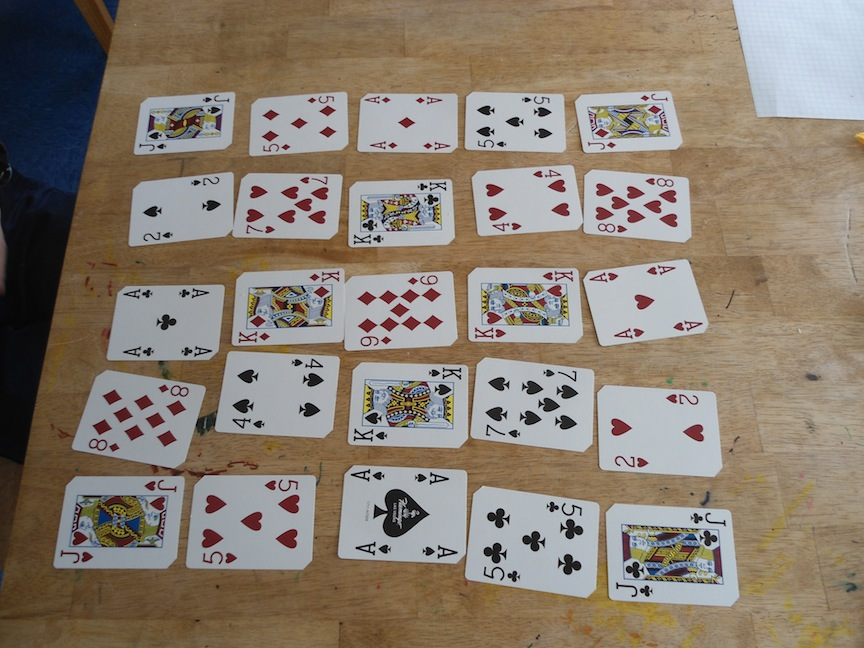 Playing Card Array